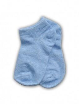 Melsvos trumpos kojinės