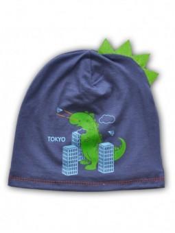 Džinso spalvos kepurė TOKYO