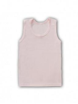 Rausvi berankoviai marškinėliai
