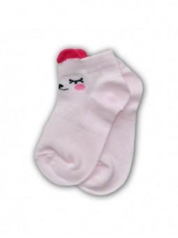 Rausvos trumpos kojinės
