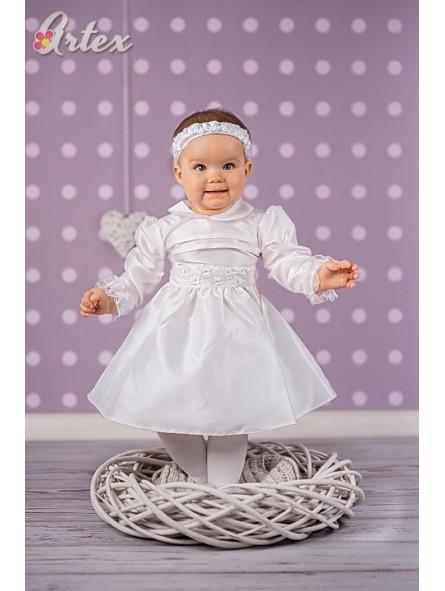Balta puošni suknelė