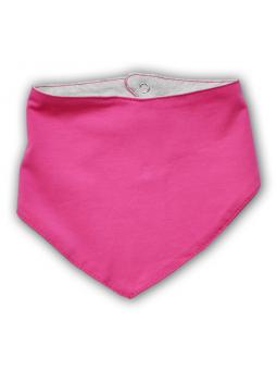 Rožinė kaklaskarė - šalikėlis