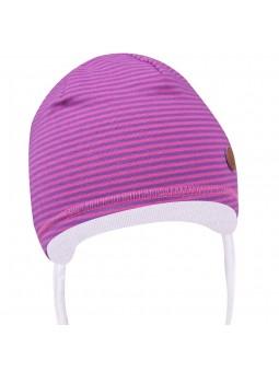 Dryžuota trikotažinė kepurė
