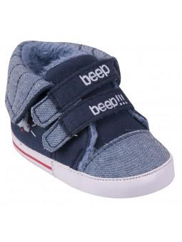 Mėlyni batukai kūdikiams