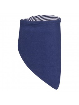 Tamsiai mėlyna kaklaskarė -...
