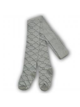 Pilkos ažūrinės pėdkelnės