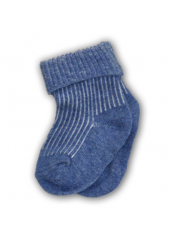 Baby pressure free socks blue
