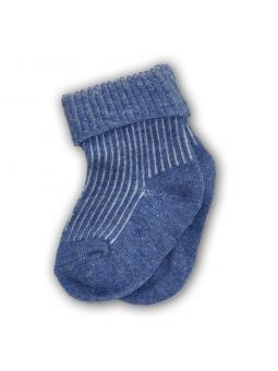 Mėlynos kojinės kūdikiams