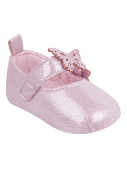 Pink baby girls shoes