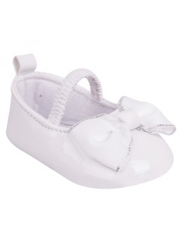 White baby girls shoes
