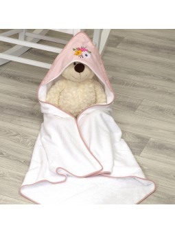 Hooded towel BUTTERFLY