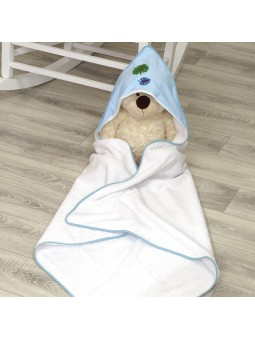 Hooded towel LEAVES