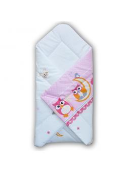 Baby swaddling blanket OWL...