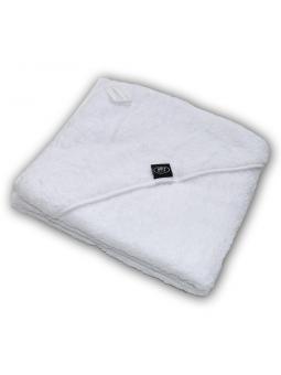 Baltas rankšluostis su gobtuvu