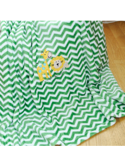 Baby blanket SAFARI