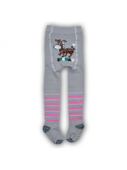Girls ABS cotton tights ZEBRA