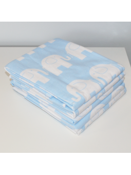 Flannel diaper ELEPHANT