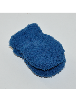 Blue baby gloves