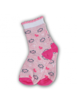 Girls socks HEARTS