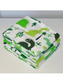 Flannel diaper DINO