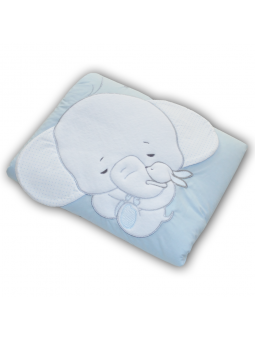 Baby blanket ELEPHANT blue