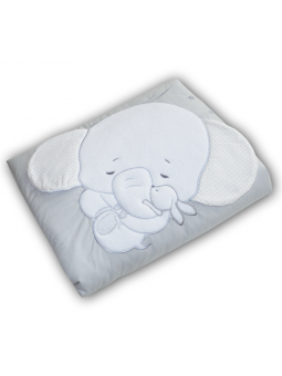 Baby blanket ELEPHANT grey