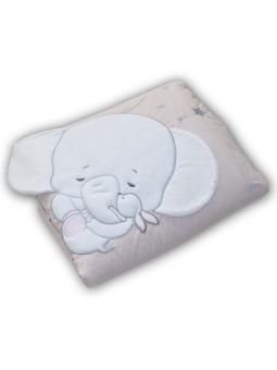 Baby blanket ELEPHANT pink