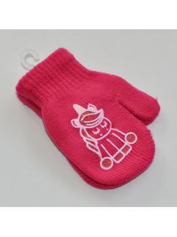 Pink kids gloves UNICORN