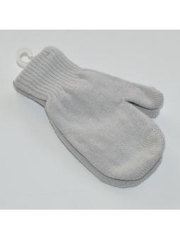 Grey kids gloves