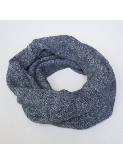 Knitted kids scarf with...