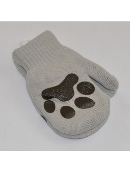 Double layer boys gloves