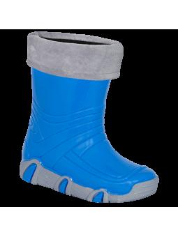 Mėlyni guminiai batai