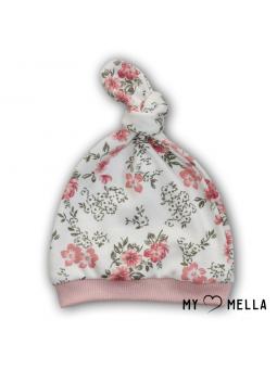 Baby cap FLOWERS