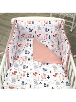 5pcs baby bed clothes set