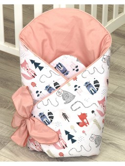 Baby swaddling blanket FOX...