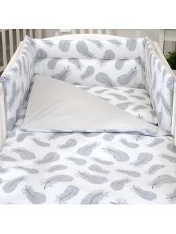 Duvet set for baby bed