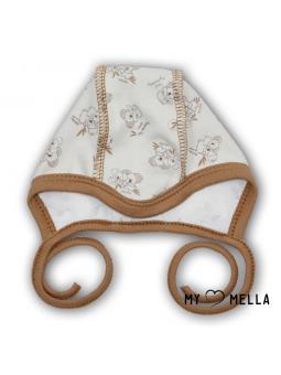 Newborn cap KOALA beige