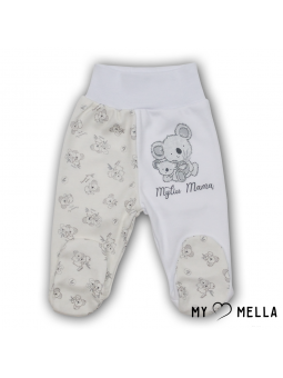 Baby trousers KOALA white
