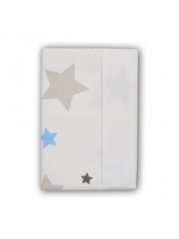 Waterproof diaper STARS blue
