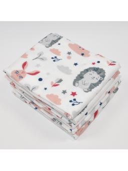 Flannel diaper HEDGEHOG...