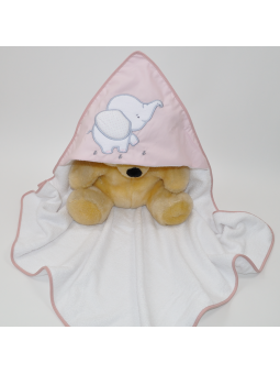 Baby hooded towel ELEPHANT...