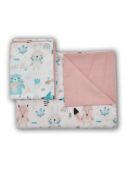 Duvet set for baby bed FOX...