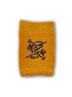 Crawling knee pads mustard