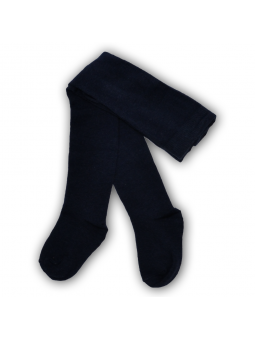 Navy blue cotton tights
