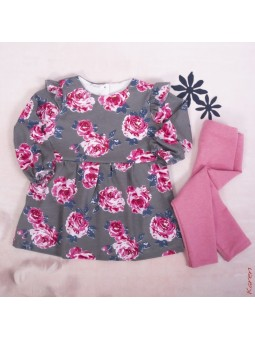 Flowered girls dress and...