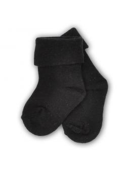 Baby pressure free socks black