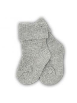 Baby pressure free socks grey