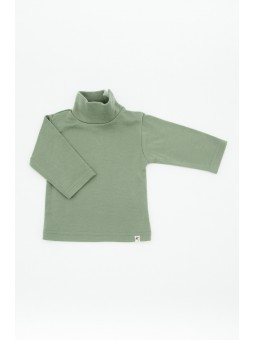 Merino wool turtleneck olive