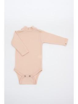Merino wool baby bodysuite...
