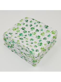 Muslin diaper CLOVER green...